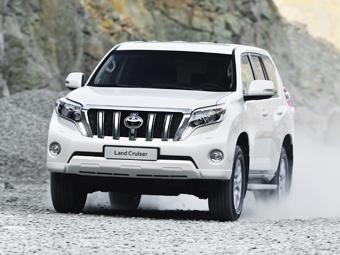 Внедорожник Toyota Land Cruiser Prado сделали комфортнее