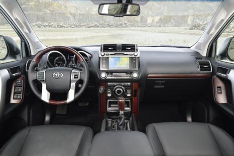 Land Cruiser Prado получил перенастроенную подвеску и улучшенную шумоизоляцию. Фото 1
