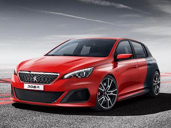 Компания Peugeot построила карбоновый хот-хэтч 308