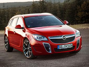 Opel улучшил управляемость Insignia OPC