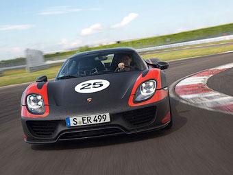 Porsche разработает четырехместный вариант супергибрида 918 Spyder