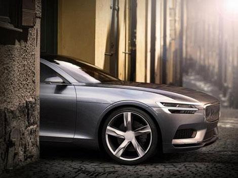 """В """"Вольво"""" разработали купе c новым фирменным стилем. Фото 3"""