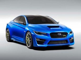 Новый седан Subaru WRX появится в ноябре