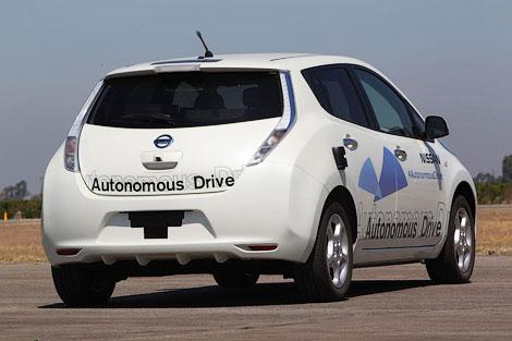 Компания Nissan в 2014 году начнет тесты автопилота на дорогах
