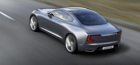 Шведы рассекретили прототип под названием Concept Coupe