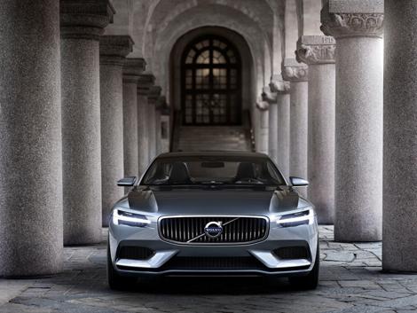 Шведы рассекретили прототип под названием Concept Coupe. Фото 1