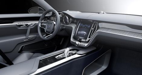Шведы рассекретили прототип под названием Concept Coupe. Фото 2