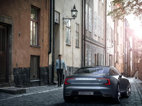 Шведы рассекретили прототип под названием Concept Coupe. Фото 3