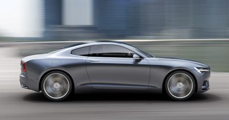 Шведы рассекретили прототип под названием Concept Coupe. Фото 4