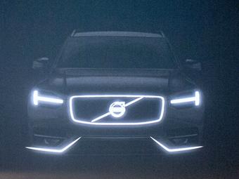 Volvo рассекретила внешность нового XC90