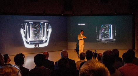 Первые изображения следующего XC90 представили на презентации Concept Coupe. Фото 1