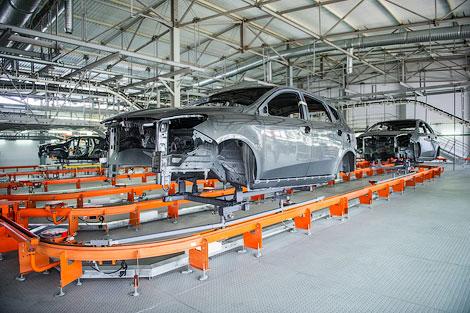 На черкесском заводе Derways начался выпуск кроссовера Luxgen7