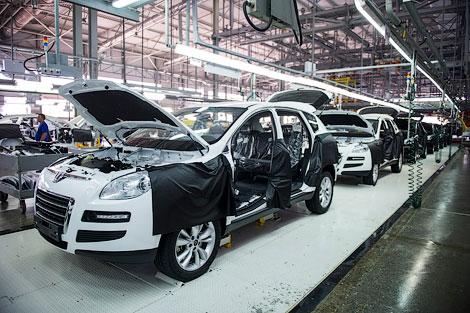 На черкесском заводе Derways начался выпуск кроссовера Luxgen7. Фото 2