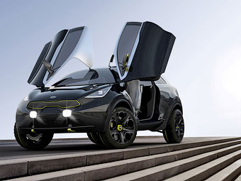 Kia представила концептуального конкурента Nissan Juke