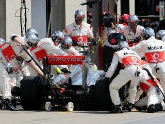 В Формуле-1 введут двойную систему крепления колес