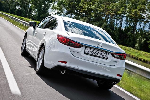 Есть ли смысл в «топовой» Mazda6 с мотором 2.5?. Фото 4