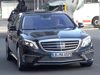 В Сети рассекретили самый мощный Mercedes-Benz S-Class