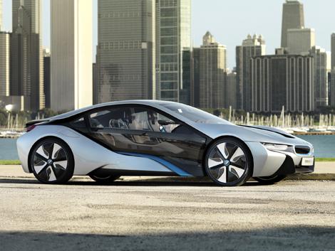 Дебют BMW i8 состоится 10 сентября. Фото 1