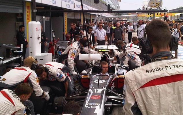 Онлайн-трансляция двенадцатого этапа Формулы-1 2013 года. Фото 1