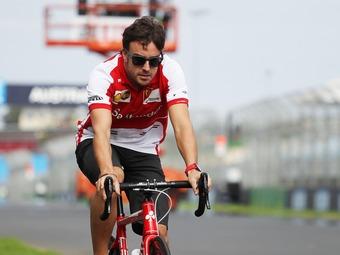 Фернандо Алонсо купит велосипедную команду