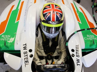 У команды Формулы-1 Force India появился третий пилот