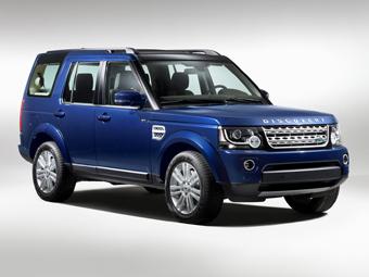 Внедорожник Land Rover Discovery обновился