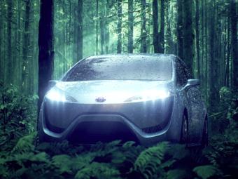 Toyota привезет во Франкфурт предвестника водородного седана