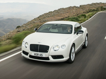 "Bentley Continental с битурбо ""восьмеркой"" стали мощнее"