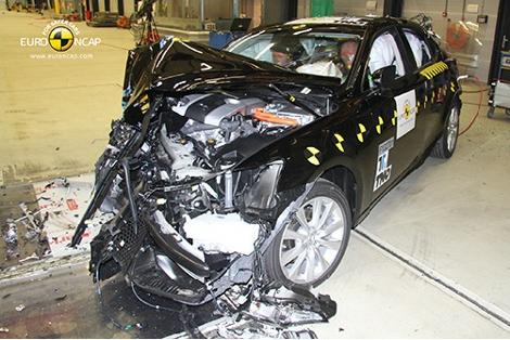Организация Euro NCAP разбила модели Lexus, Mazda, Mitsubishi, Toyota и Opel