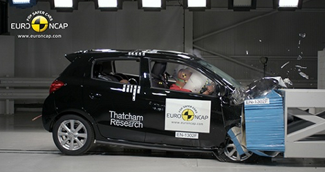 Организация Euro NCAP разбила модели Lexus, Mazda, Mitsubishi, Toyota и Opel. Фото 3