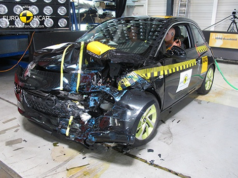 Организация Euro NCAP разбила модели Lexus, Mazda, Mitsubishi, Toyota и Opel. Фото 4