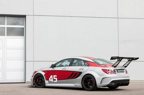 Прототип гоночного CLA представят во Франкфурте. Фото 2