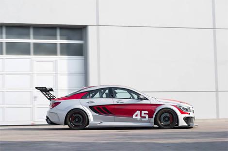 Прототип гоночного CLA представят во Франкфурте. Фото 3