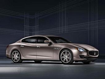 """Maserati запустит в серию """"модный"""" Quattroporte"""