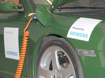 Siemens отказался от выпуска станций зарядки электрокаров