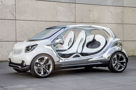 Компания Smart привезет во Франкфурт концепт-кар Fourjoy. Фото 1