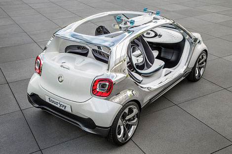 Компания Smart привезет во Франкфурт концепт-кар Fourjoy. Фото 2