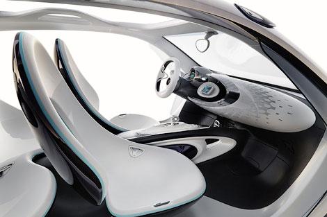Компания Smart привезет во Франкфурт концепт-кар Fourjoy. Фото 4
