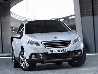 Peugeot будет продавать в России кроссовер 2008