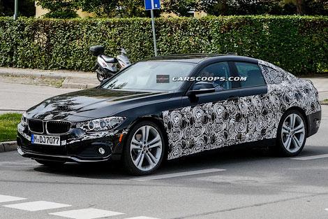 Появились шпионские фотографии новой модификации BMW 4-Series