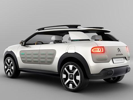 Компания Citroen представит на Франкфуртском моторшоу концепт-кар Cactus
