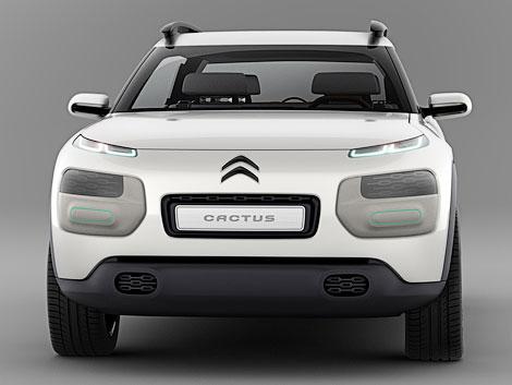 Компания Citroen представит на Франкфуртском моторшоу концепт-кар Cactus. Фото 3