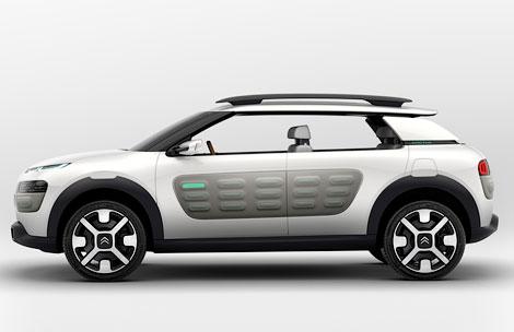 Компания Citroen представит на Франкфуртском моторшоу концепт-кар Cactus. Фото 4