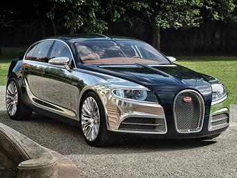 Bugatti откажется от разработки серийного суперседана Galibier