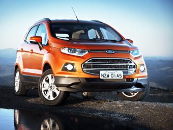 Первые экземпляры Ford EcoSport в Европе продадут через Facebook