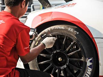 Компания Michelin протестировала шины Формулы-1 на прототипе Audi