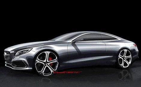 Прототип купе S-Class привезут на Франкфуртский автосалон. Фото 2