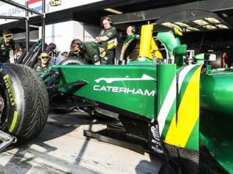 Caterham показал профиль нового спорткара на болиде Формулы-1