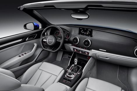 Крыша кабриолета Audi A3 может быть сложена за 18 секунд. Фото 3