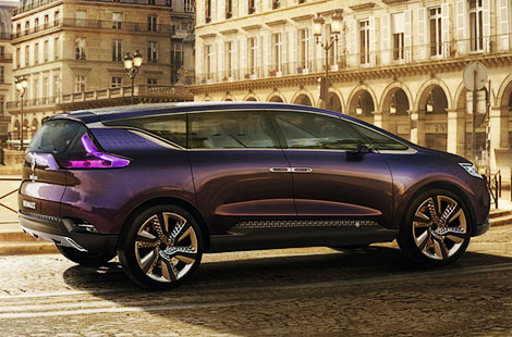 Renault покажет во Франкфурте предвестника модели Espace нового поколения